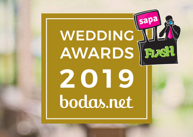 Ganador Wedding Awards 2019 Bodas net