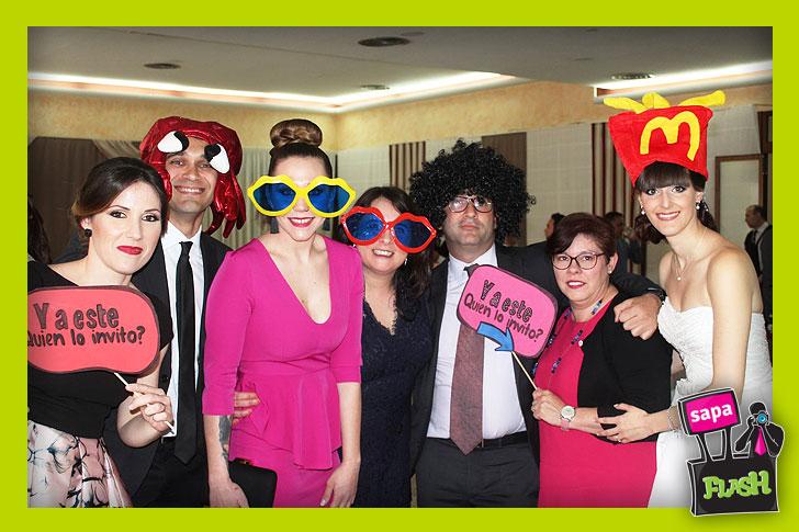 Fotomatón bodas Puebla Larga